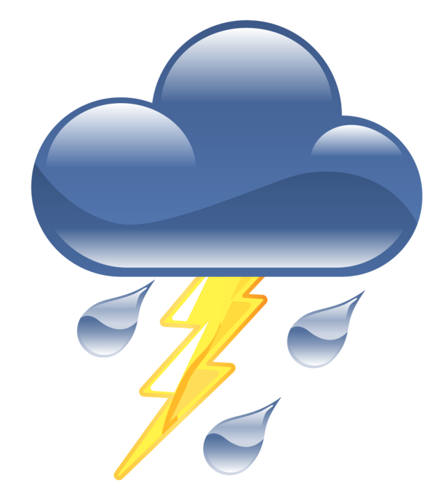 thunderstorm icon clipart best