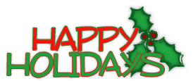 21 happy holida... Free Holiday Banner Clip Art