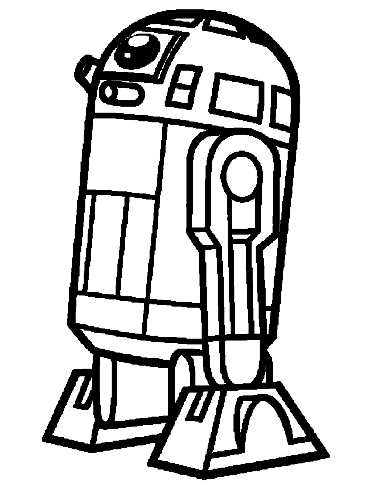 r2d2 coloring pages - photo #28