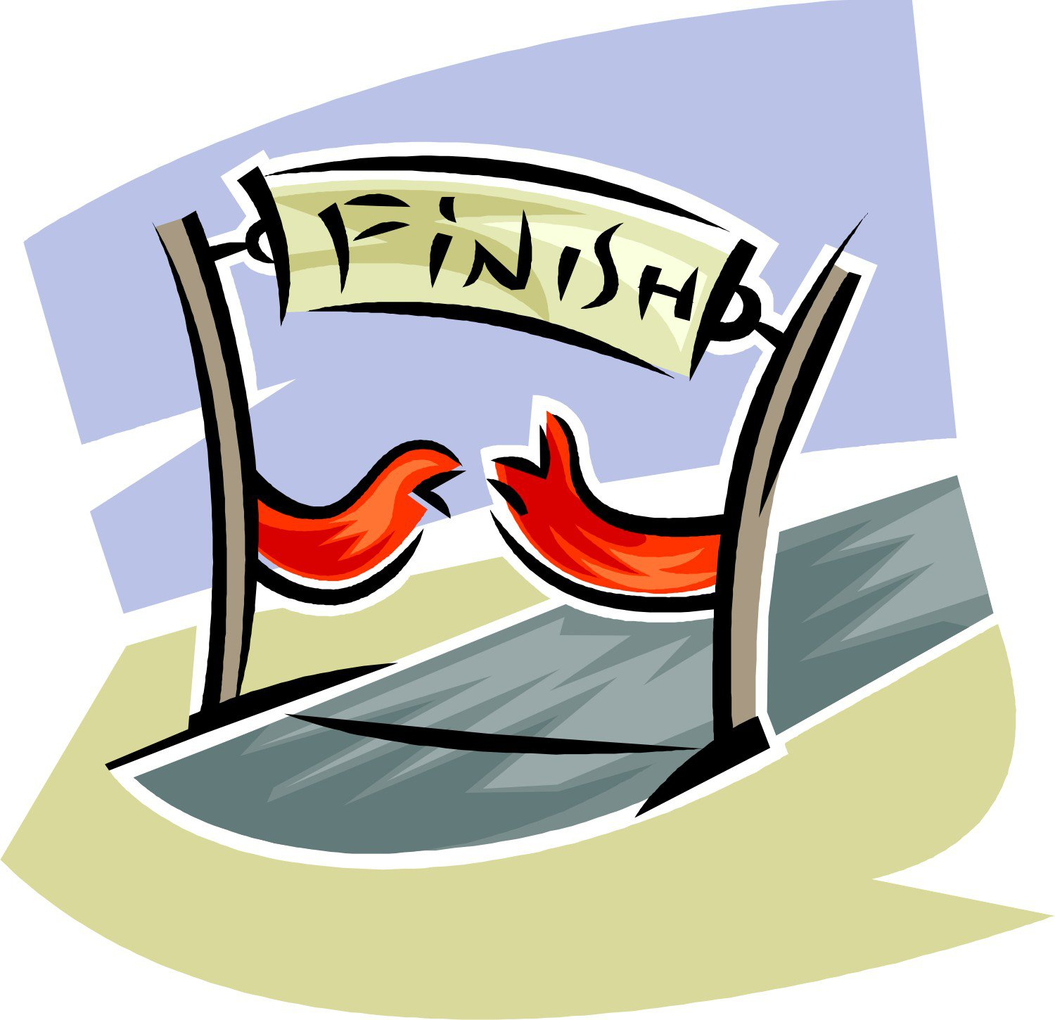 Race Car Finish Line Clipart - ClipArt Best