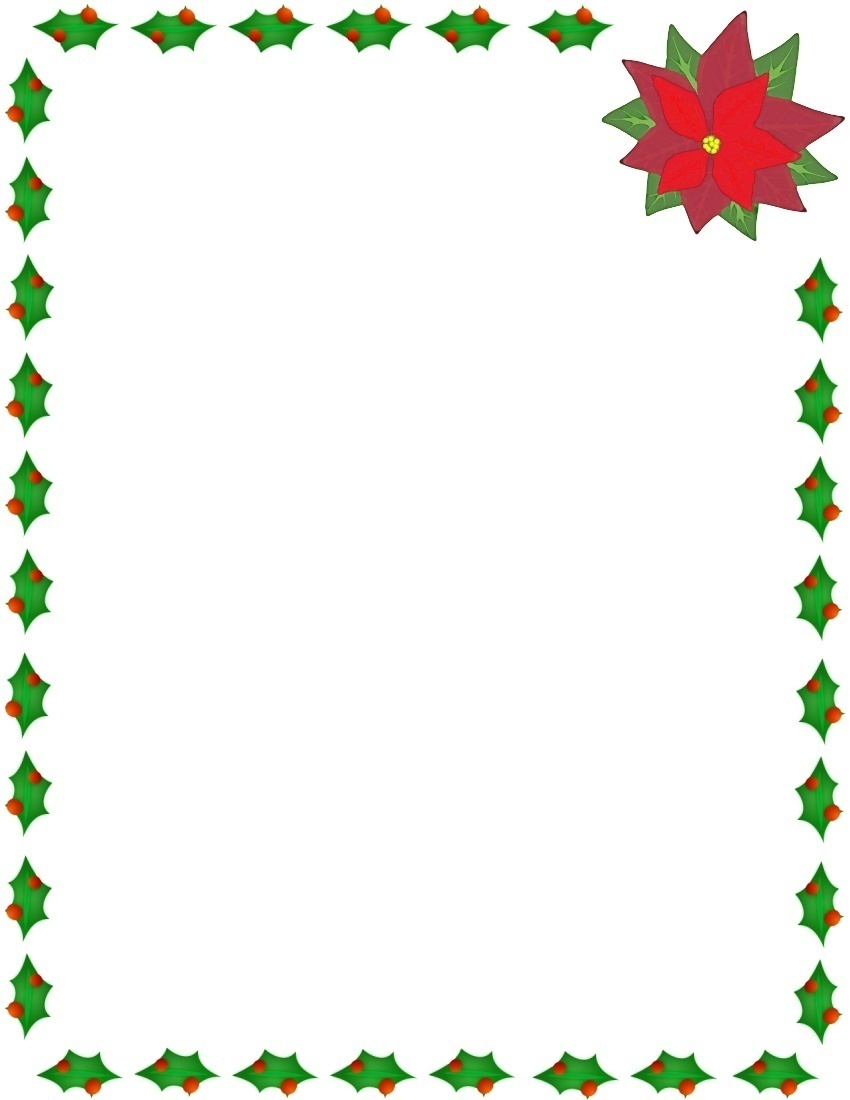 Free Online Christmas Clipart And Borders - Christmas Page Border Clip Art  – Stunning free transparent png clipart images free download