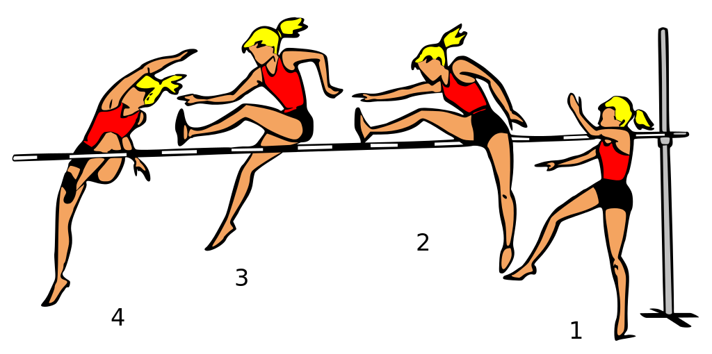 high jump clipart - photo #31