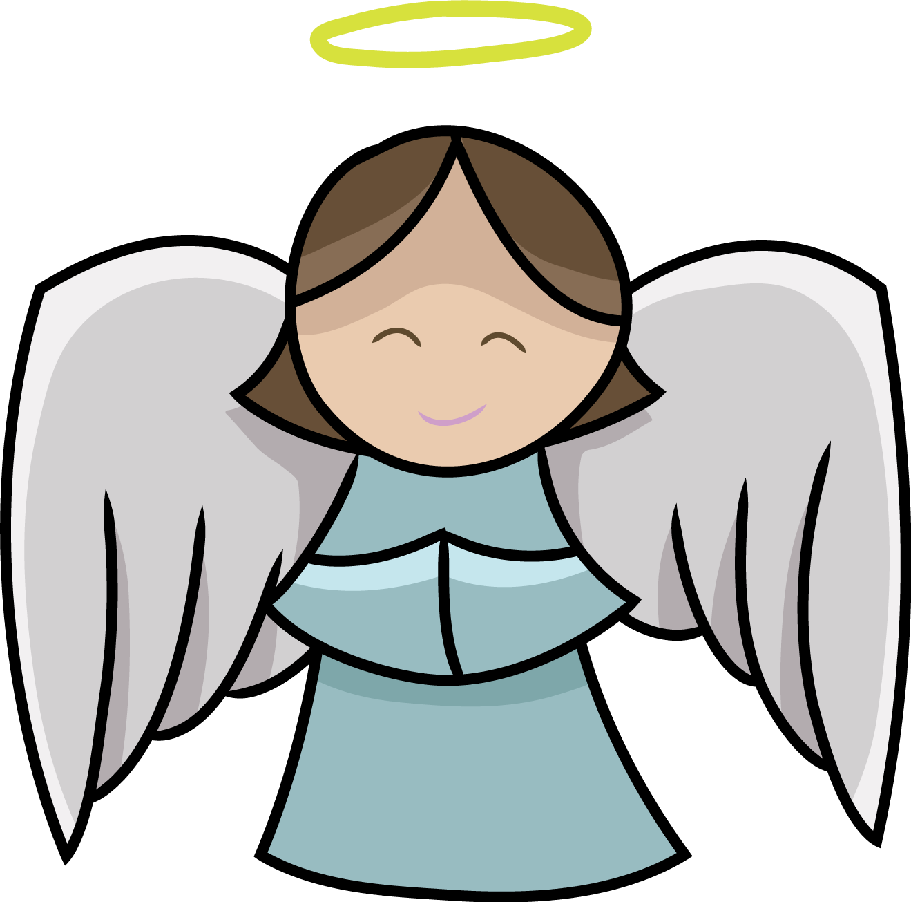 cartoon angel clipart - photo #25