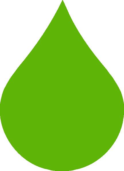 Green Raindrop clip art - vector clip art online, royalty free ...