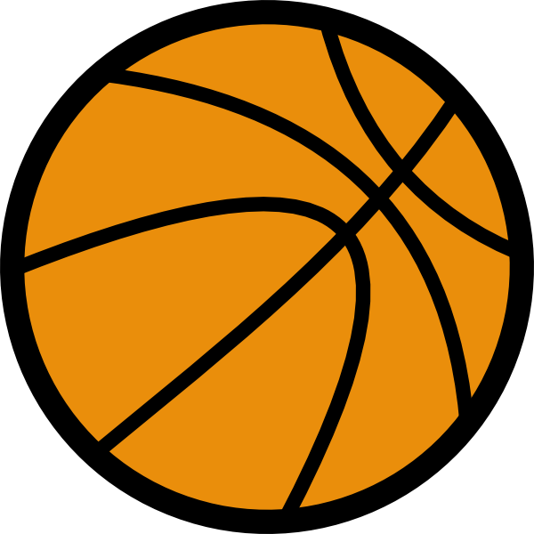 Basketball Outline Vector - ClipArt Best