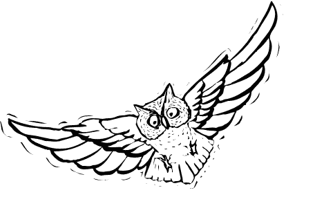 Flying Owl -Coloring Pictures - ClipArt Best - ClipArt Best