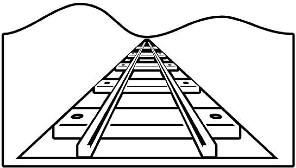 Railroad Vector Art Railroad Vector Graphics Railroad Clipart