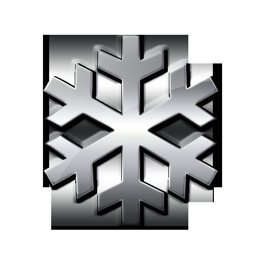 Single Snowflake (Snowflakes) Icon Version 2 #051546 Icons Etc