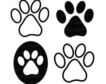 Clipart Cat Paw Print - ClipArt Best