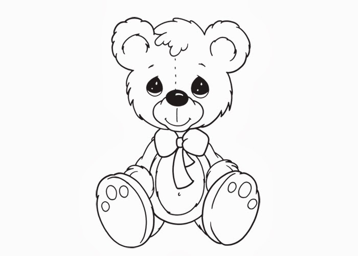 page teddy bear coloring and butterfly hagio graphic - Teddy Bear Picnic Coloring Pages