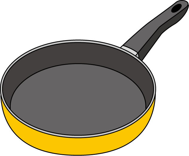 Frying Pan Clip Art - ClipArt Best