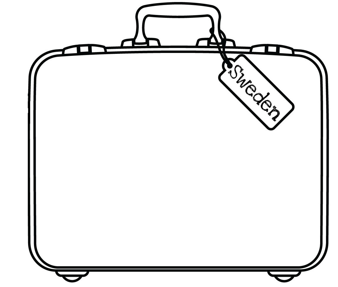 Printable Suitcase Clipart Best