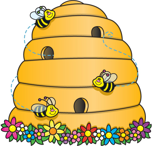 Cartoon Beehive Clipart Cartoon Beehive Clipart