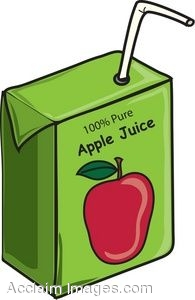 Apple Juice Box Clipart - ClipArt Best