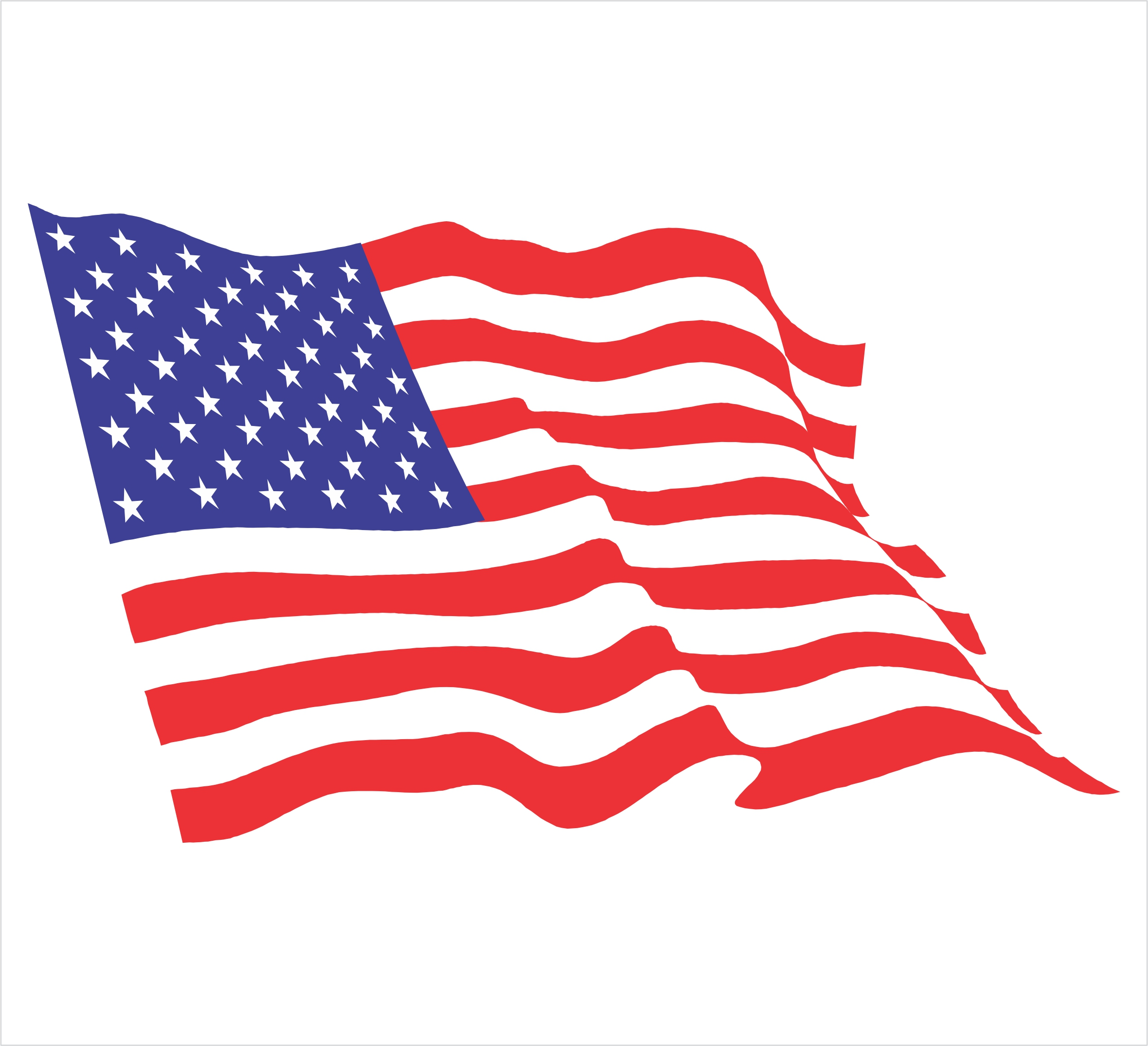 clip art of american flag animated - photo #34