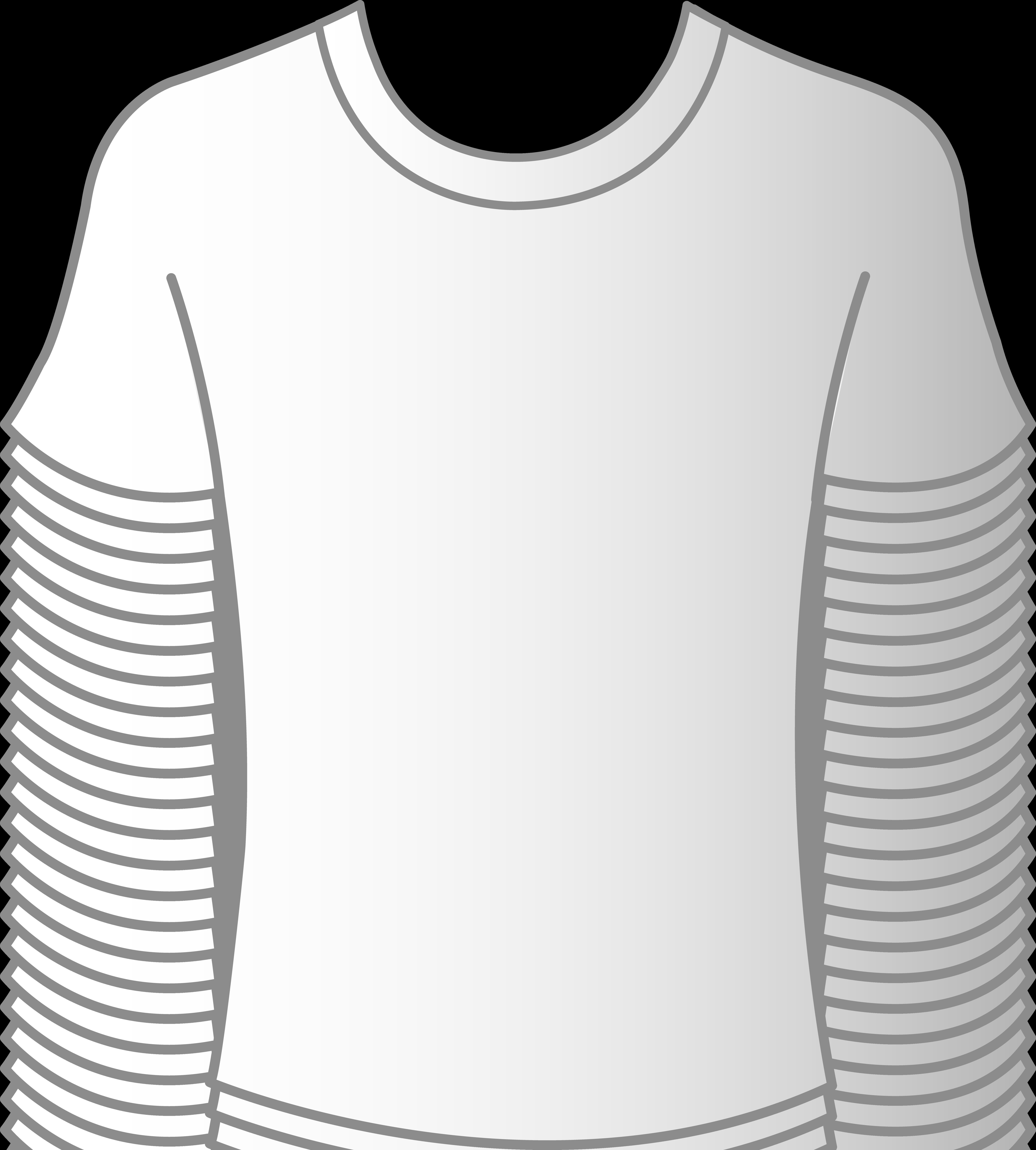 Plain White T Shirt Clip Art Clipart Best