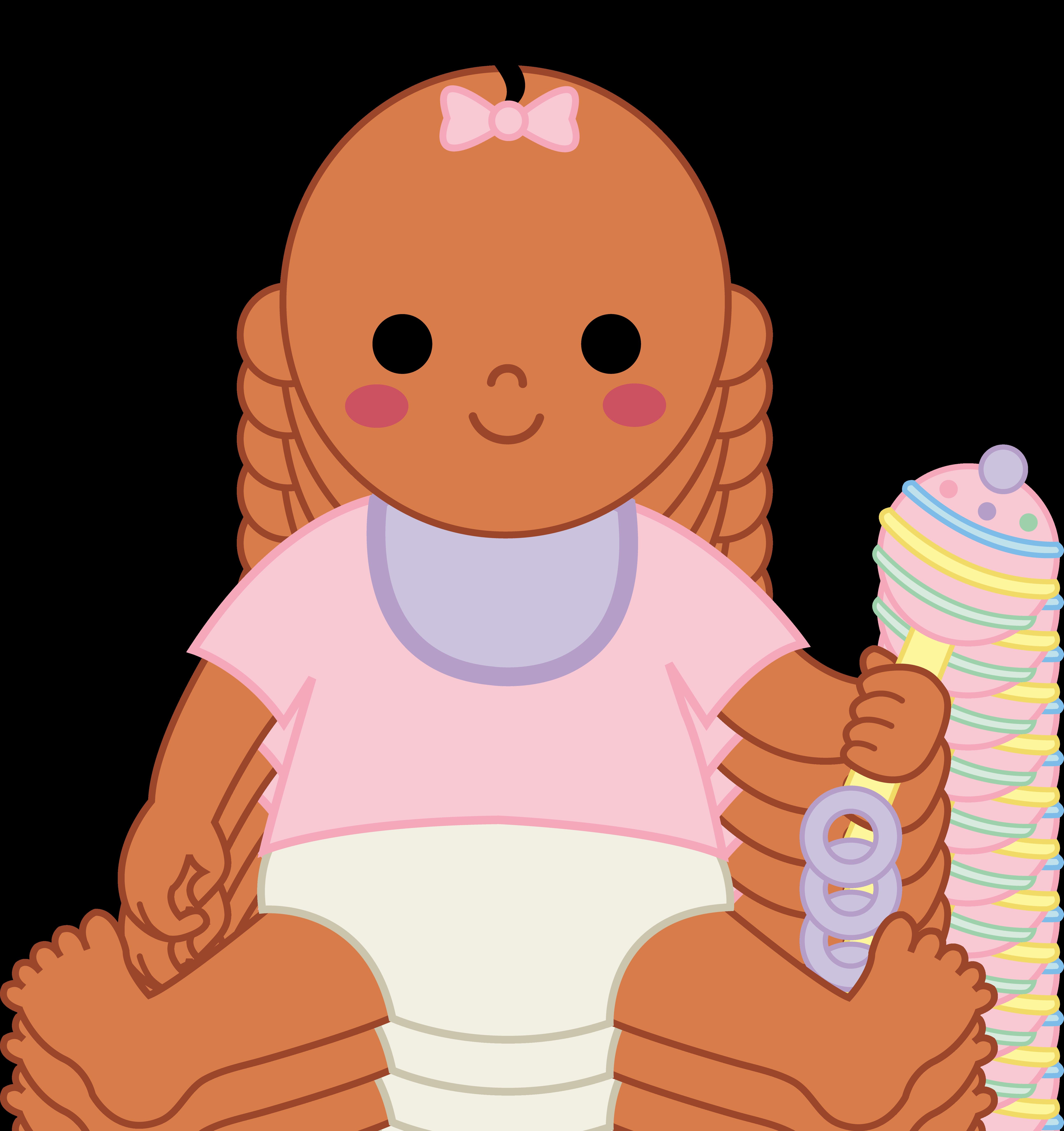 Black Baby Girl Clip Art - ClipArt Best