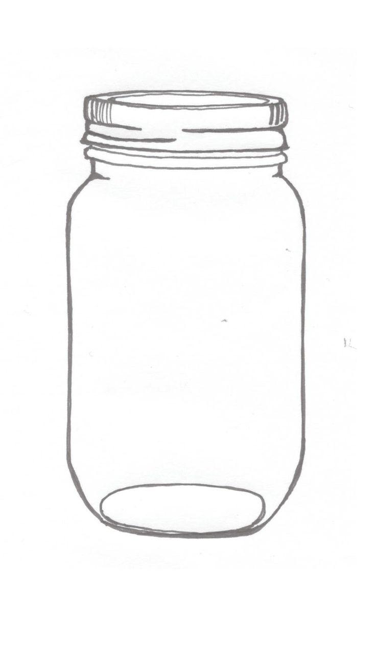Exhilarating image within jar printable