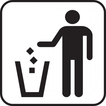 25 waste bin symbol . Free cliparts that you can download to you ...