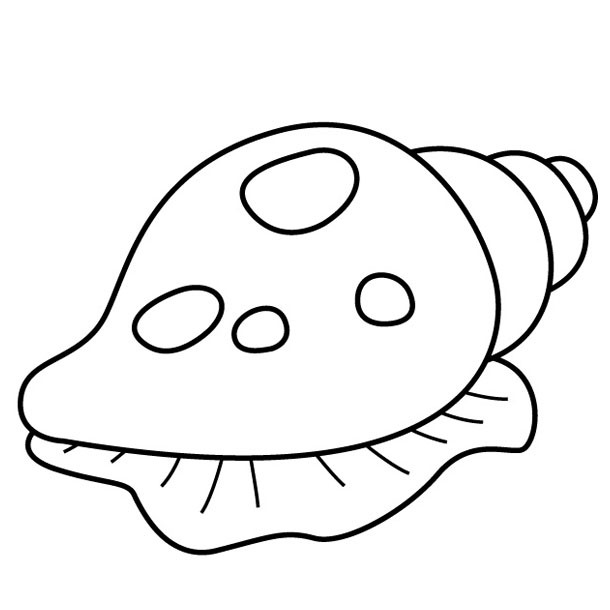 shell fish Colouring Pages (page 2)