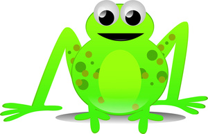 Frog On A Lily Pad Clip Art - ClipArt Best