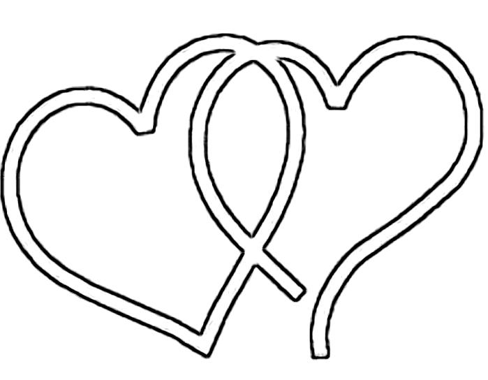Fancy Heart Outline Clipart Best