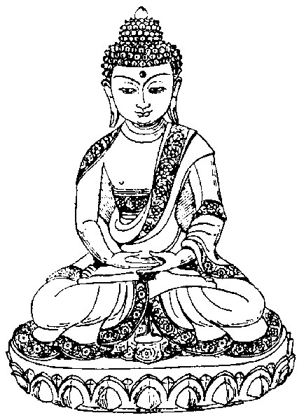 Coloring Pages Of Chinese Buddha