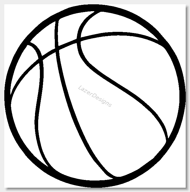 Line Drawing Basketball : Basketball lines images
