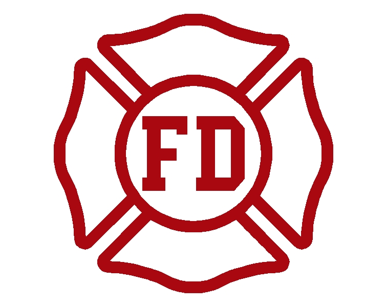Fire Department Maltese Cross Clip Art
