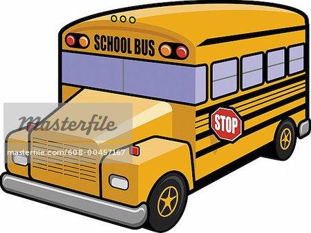 yellow bus clipart - photo #38