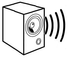 speaker clip art black and white pictures to pin on
