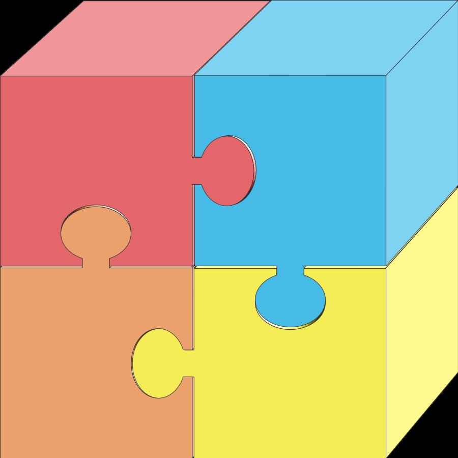 Jigsaw Puzzle Piece Clipart Puzzle Pieces 2 Clipart