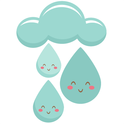 Happy Cartoon Raindrop - ClipArt Best