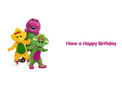 Barney Happy Birthday Pictures - ClipArt Best