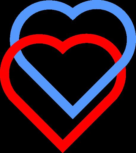 Love Heart symbol rings.svg - ClipArt Best - ClipArt Best