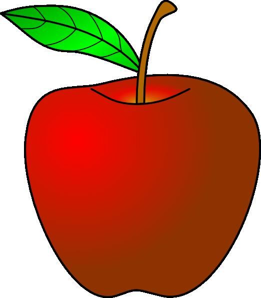 Apple Clip Art Vector Clip Art Online Royalty Free