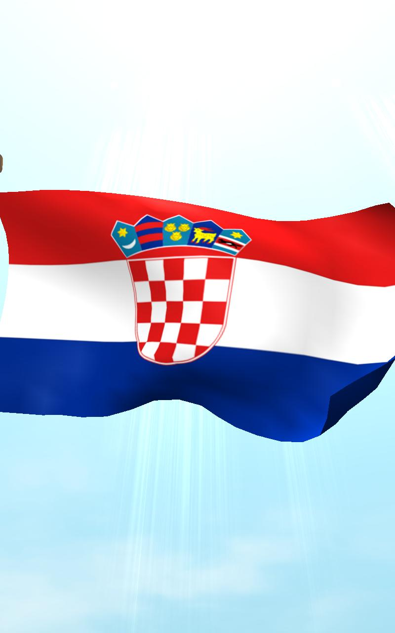 croatia flag 3d free wallpaper   android apps and tests   androidpit