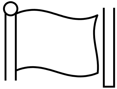 Printable Flag Banner Template ClipArt Best