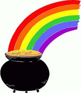 Image Gallery irish rainbows clip art