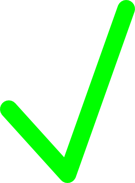 Images Green Check Mark Green Check Mark Clip Art