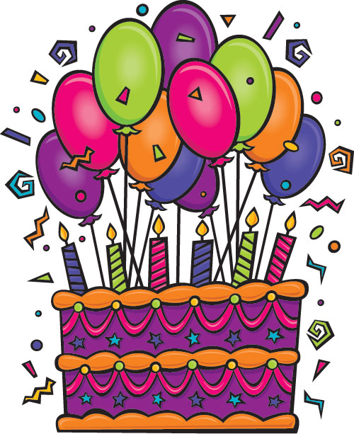 Birthday Baloons Cartoon - ClipArt Best