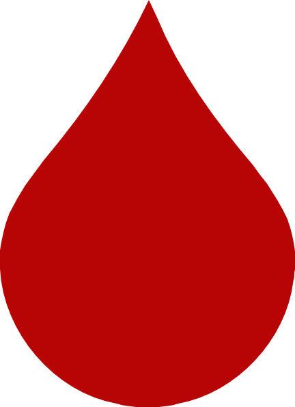 clipart picture of blood - photo #29