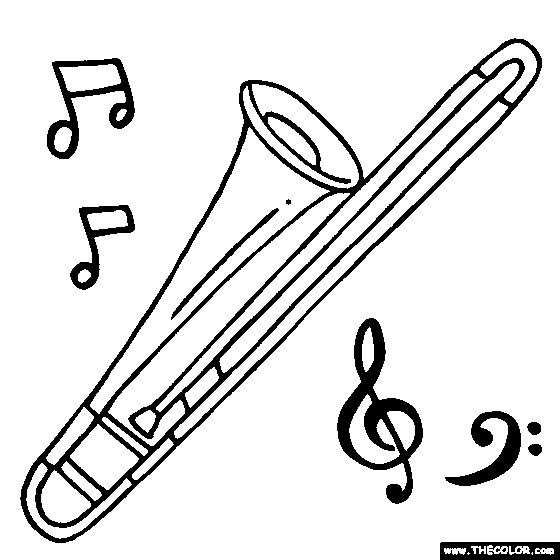 Kids Colouring Pages Of Irish Musical Instruments - ClipArt Best