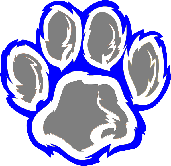Wildcat Paw Print - ClipArt Best