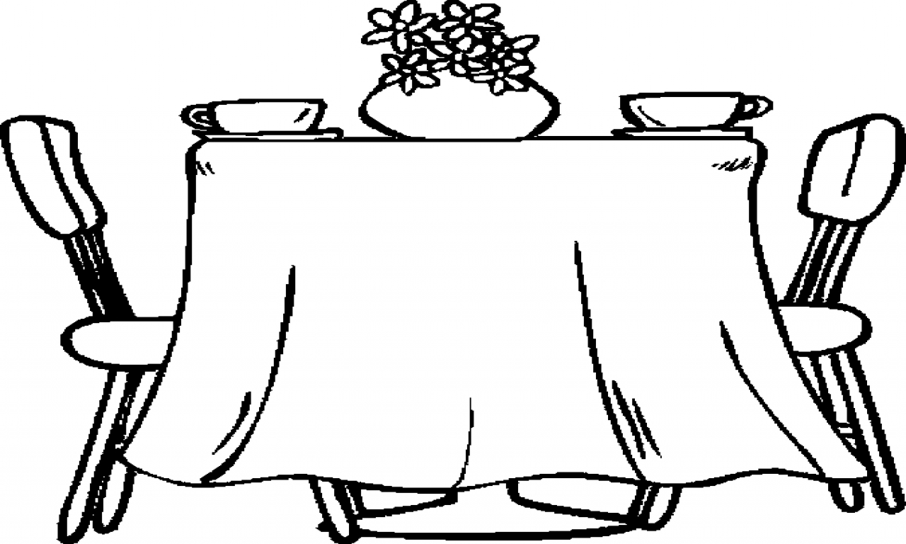 tables coloring pages - photo #43