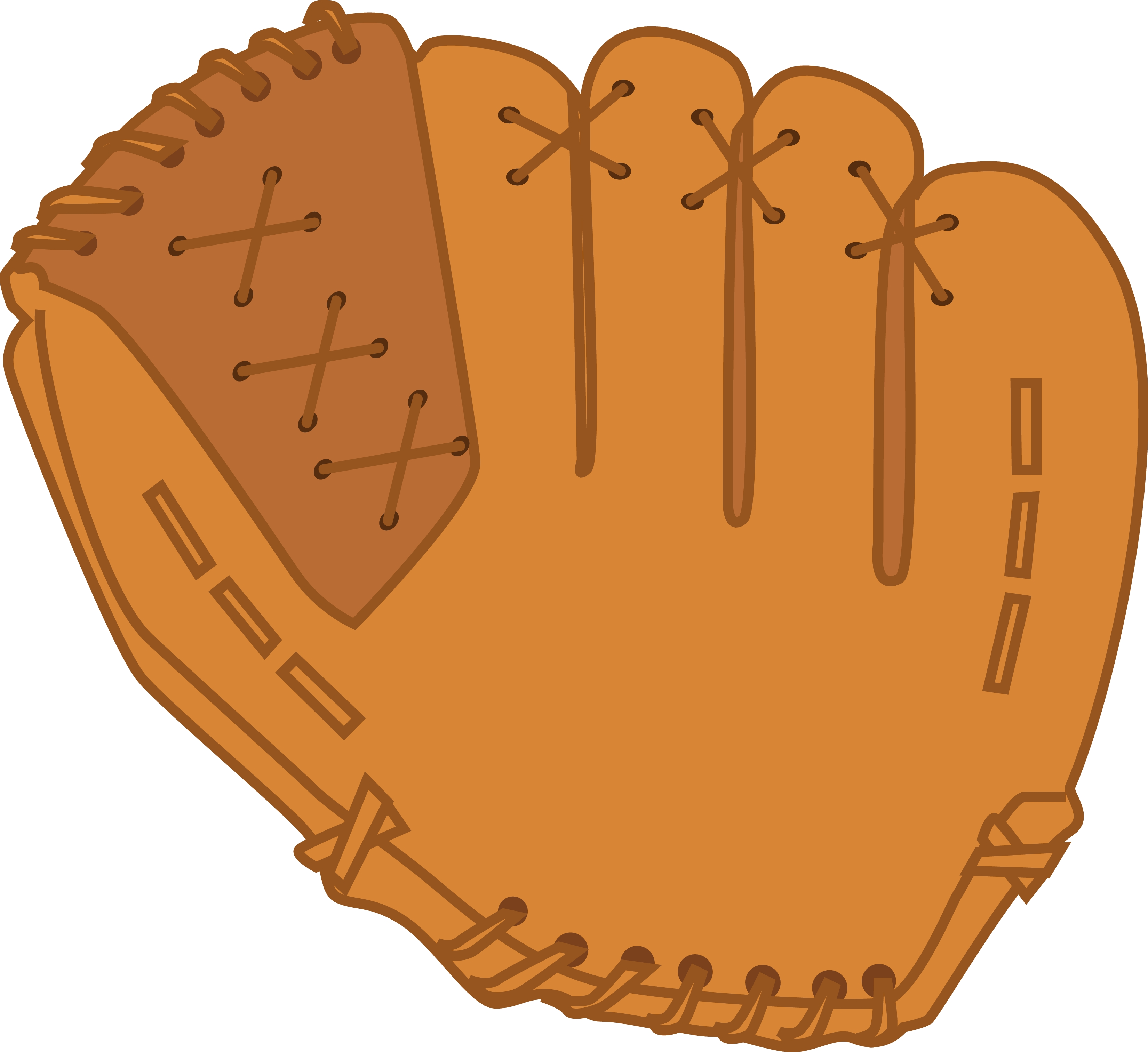 baseball glove picture clipart best