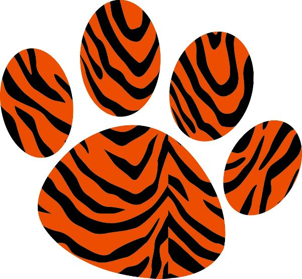 Tiger paw clipart kid - Cliparting.com