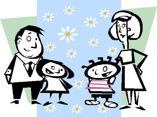 Family Cartoon of 7 7 Cartoon Fami