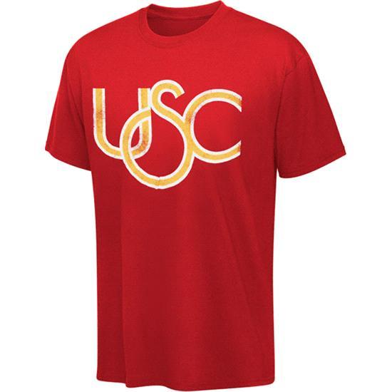 Cardinal Logo Outline Usc Trojans Cardinal Outline