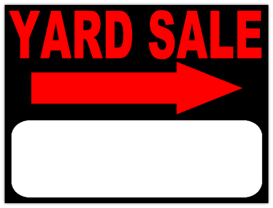 Dynamite image intended for sales signs templates